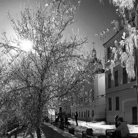 Витебский дворик :: Сергей Журавлёв