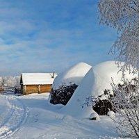 Деревенская зима :: Эркин Ташматов