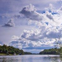 Облака над Десной :: Александр Крупский