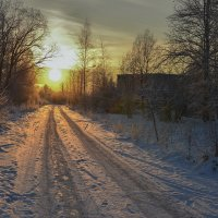 Дорога к Солнцу :: evgeny ryazanov