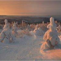 Вечерние причуды зимы :: Владимир Тюменцев