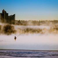 Одинокий рыбак :: Юрий Крутский