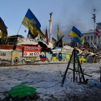 Майдан 25 января :: Дмитрий Гончаренко