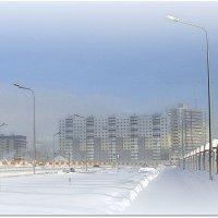 мороз в городе :: Олег Петрушов