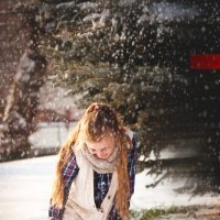 перший сніг під кінець січня.. :: Міша Марадик
