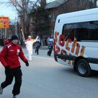 Олимпийский огонь г.Шахты :: LEVALEX