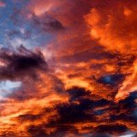 Небо при закате солнца :: Константин Лазуренко
