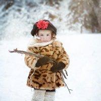 Мороз не сильный, и в лес не ходила. Откуда дровишки?  мне мама дала :))) :: Светлана Парфёнова