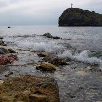 Крым,Яшмовый пляж,Георгиевская скала :: Николай Кононцев