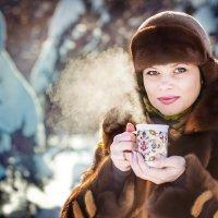 Чай на морозе......... :: Света Солнцева
