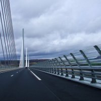 Футуристический мост в Лангедоке :: Александр Крупский