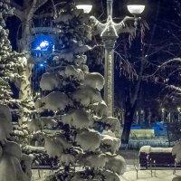 Зима 14 года Самара  набережная :: Арсений Корицкий