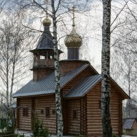 Деревенская церковь в Подмосковье :: Сергей Осипенко