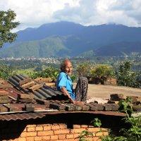 Досуг непальского пенсионера :: Роман Самотес