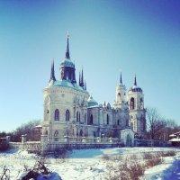 Церковь Владимирской Божьей матери в Быково :: Янина Пименова