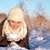 ура снег!!! :: Александр Семейников