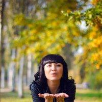 Осенний поцелуй :: Анастасия Бондаренко