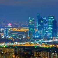 Вид на Москву с высотки Триумф Палас :: Игорь Герман