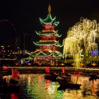 Рождество в парке Тиволи в Копенгагене :: Вячеслав Ковригин