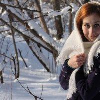 Оренбургскии пуховыи платок :: Дашенька Лабуткина
