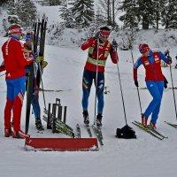Наши биатлонисты :: Николай Баринов