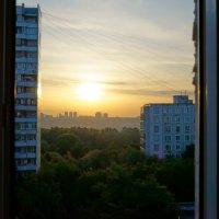 Восход в Строгино :: Alexandr Яковлев