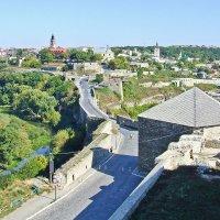 Каменец-Подольский. Вид из крепости на старый город. :: Александр Крупский