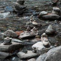 Обо на реке Кынгарга :: Анна S