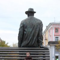 Гуливер и Лилипут :: Сергей Филимонов