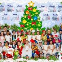 """Коллаж """"С Новым годом"""" для средней группы :: Дарья Казбанова"""