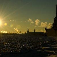 мороз и солнце в Питере :: AlexAnder E