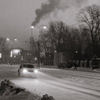 Морозное утро 2 :: Сергей Черепанов