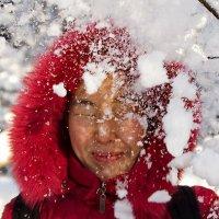 снежный душ :: Дмитрий Бубер