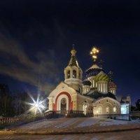 Москва патриаршия(ночь) :: юрий макаров