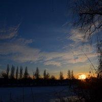 Зимний закат :: Александр Можаров