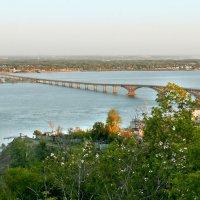 мост через Волгу_весна :: Андрей ЕВСЕЕВ