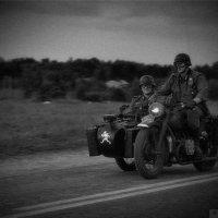 Мотоциклисты вермахта :: Максим Бочков