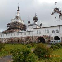 Реставрация Соловецкого монастыря. 2013г. :: Мила