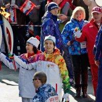 Олимпийский огонь, Сочи :: Александр Бессараб