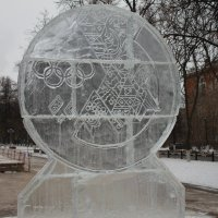 """Олимпийская """"Ледяная"""" медаль :: Елена Серопегина"""