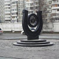 Знак нулевой отметки Чуйского тракта. :: Олег Афанасьевич Сергеев