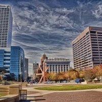 Milwaukee. Downtown. :: Gene Brumer