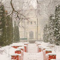 Снежное утро..Моква. :: Александр Герасенков