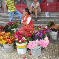 Продавщица цветов :: svk