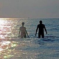 двое на закате.. :: Надежда Шемякина
