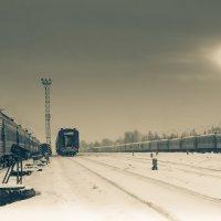 поезда :: Ирина Корнеева