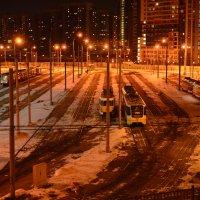 жизнь ночного города :: Евгений Платонов