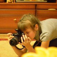юный фотограф :: Евгений Платонов