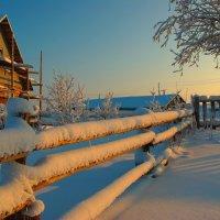 Зима в Коми :: Анатолий Кузеев
