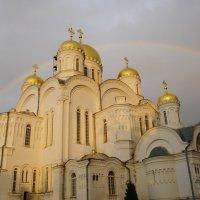 Радуга над храмом :: Игорь Сорокин